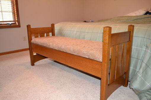 Custom Made Bed Bench