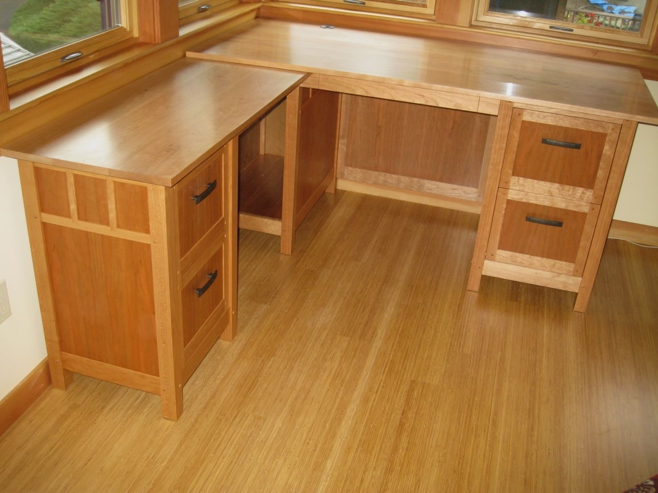 Handmade Newberg Cherry Desk By Dogwood Design