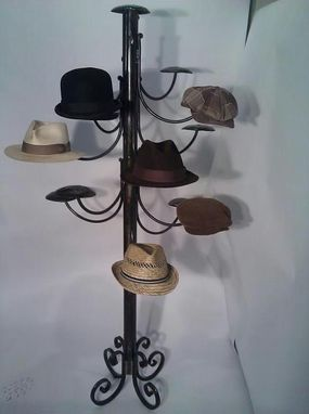Custom Made Standing Steampunk Hatrack