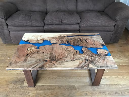Custom Made Live Edge Maple River Table