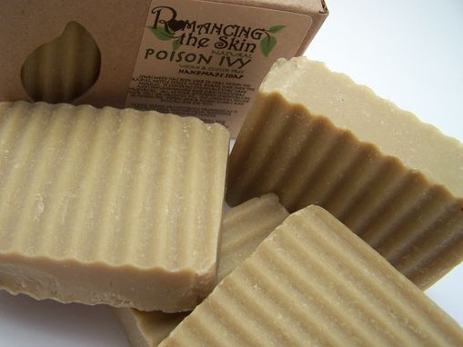 Custom Made Natural Poison Ivy (Vegan & Gluten Free) Handcrafted Lye Soap