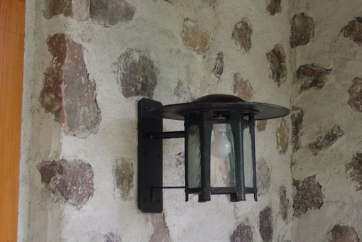 Custom Made Exterior Wall Lantern