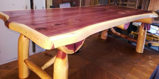 Custom Made Cedar Coffee Table
