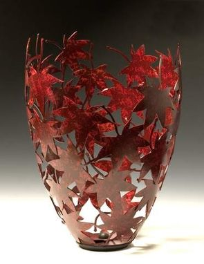 Custom Made Japanese Maple Leaf Vessel