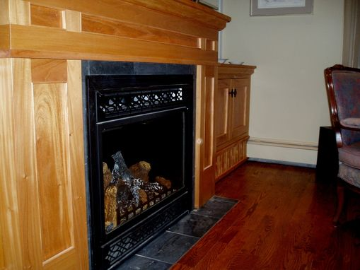 Custom Made Shaker Mahogany Mantel