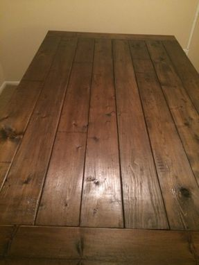 Custom Made Dining Room Kitchen Table Table - Free Shipping To Lower 48 States