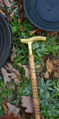 Custom Made The Treasure Walking Stick