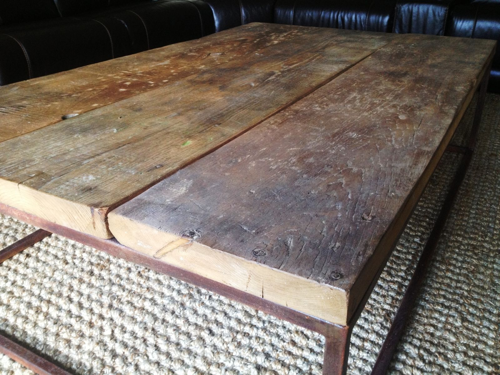 Industrial Style Coffee Tables Hand Crafted Industrial Style Coffee Table By Eb Mann