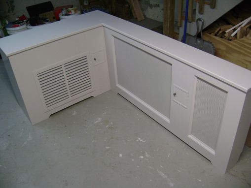 Custom Made Radiator - A/C Cover