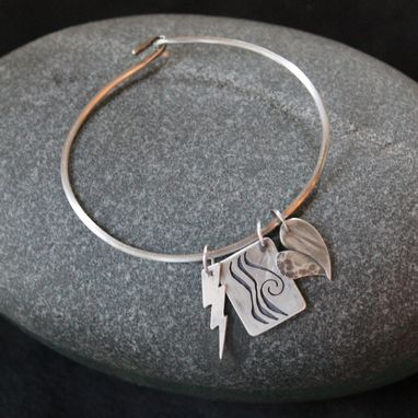 Custom Made Symbolic Charm Bracelet For Rebecca