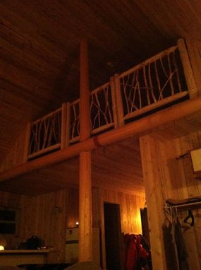Custom Made Loft Railing
