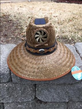 Custom Made Kool Breeze Hat - Brown