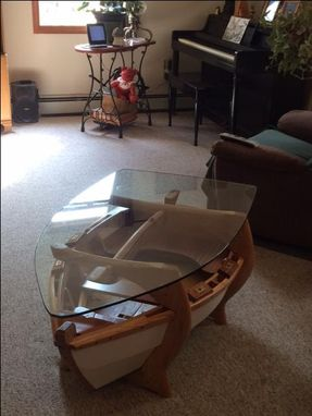 Custom Made Nautical Coffee Table