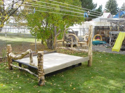 Custom Made Log Beds