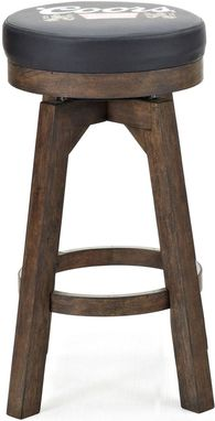 Custom Made Banquet Round Backless Bar Stool