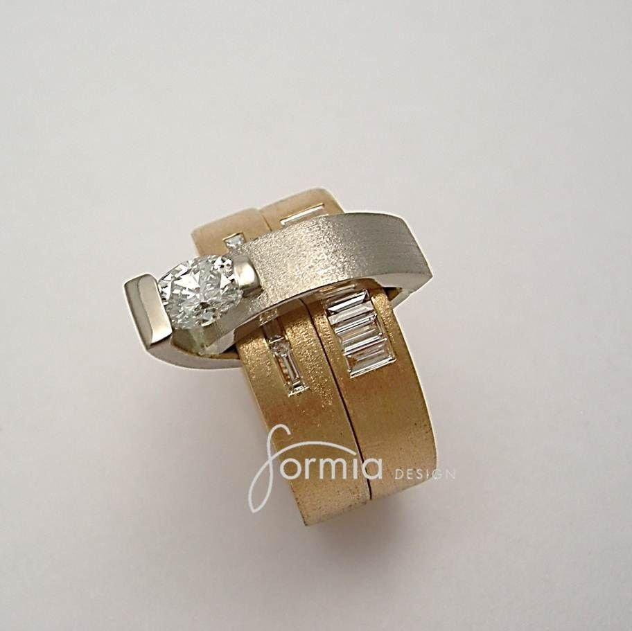 hand made anniversary ring wrap around wedding bands by. Black Bedroom Furniture Sets. Home Design Ideas