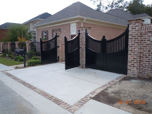 Custom Made Drive Thru Gates