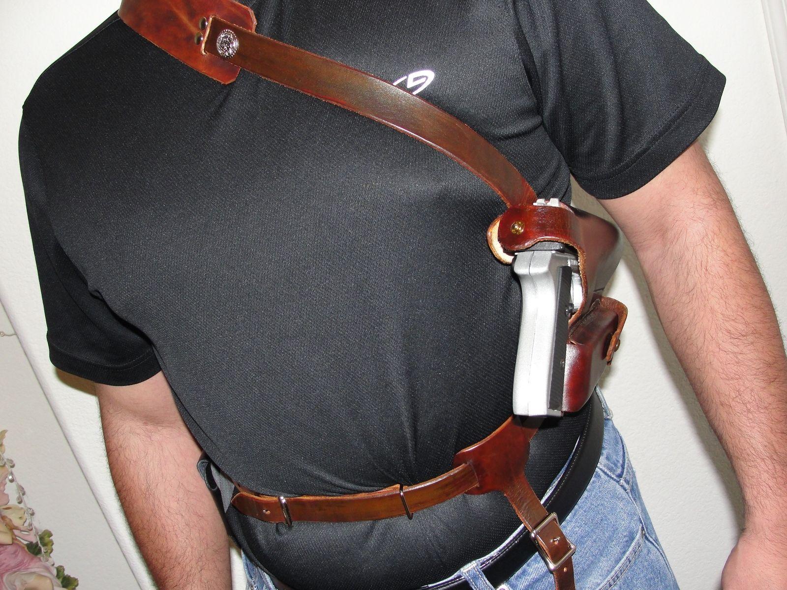 Shoulder Holster Pattern Custom Decorating