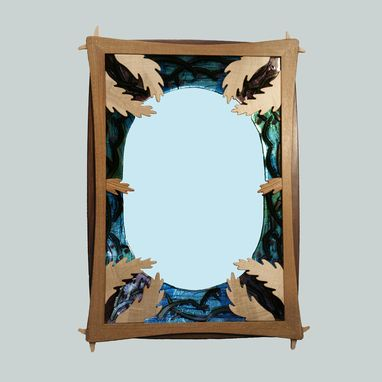 Custom Made Apple Blossom Mirror