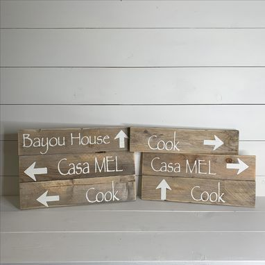 Custom Made 6x20 Barn Wood Custom Sign | Genuine Old Wood | Custom Designed | Personalized |