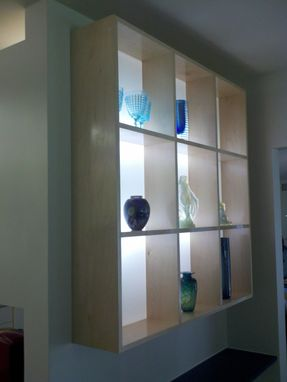 Custom Made Art Glass Display Case