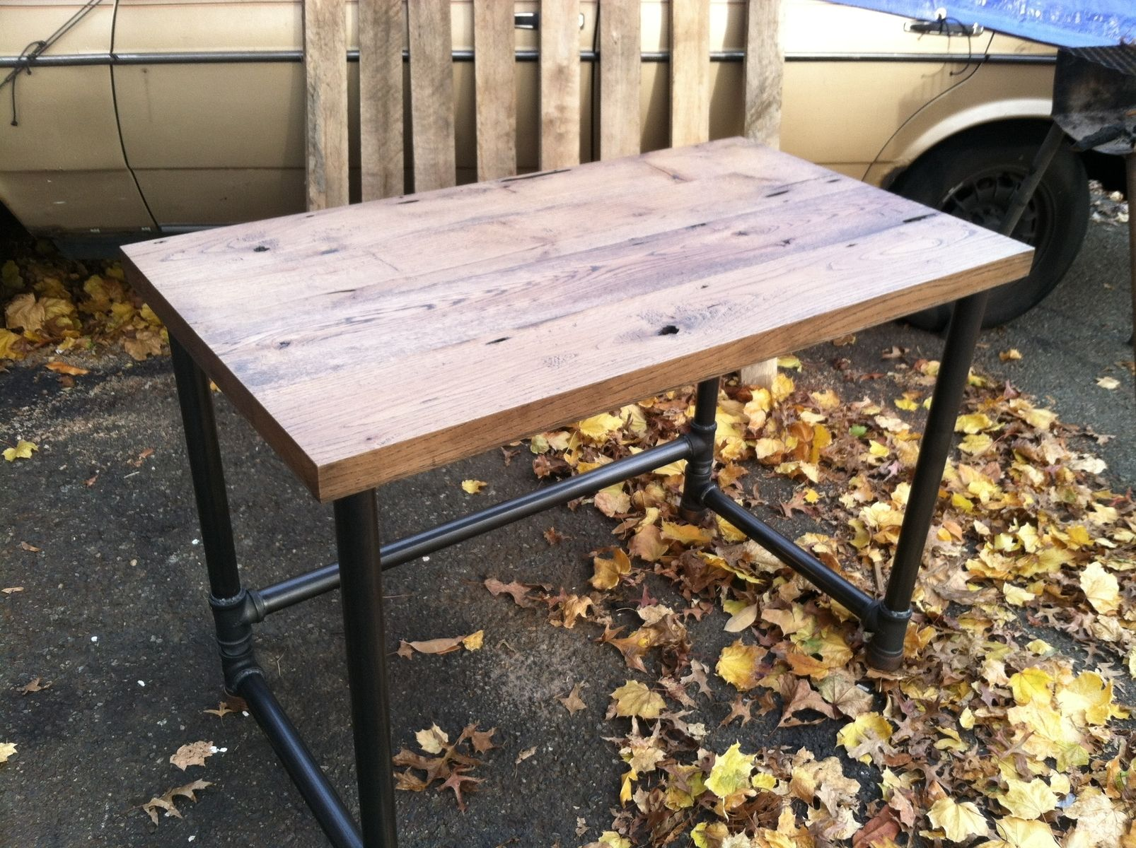 Custom Made Reclaimed Wood Work Desk