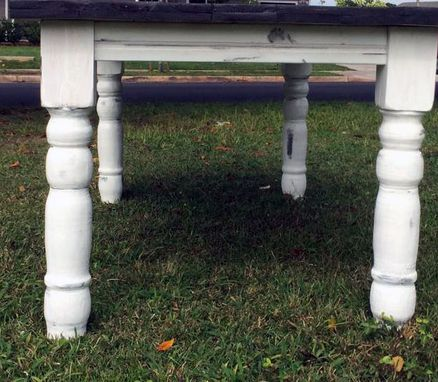 Custom Made Farmhouse Dining Table Set