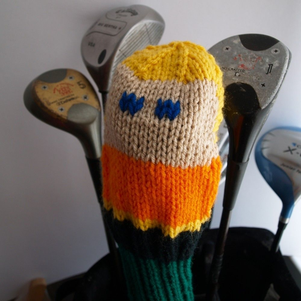 Hand Made Knit Pattern Aquaman Golf Club Cover Pdf by Tracey Knits ...
