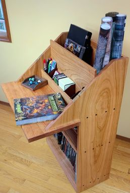 Custom Made Game Valet Bookshelf
