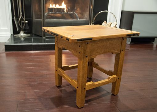 Custom Made Gamble House Inspired Side Table