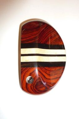 Custom Made Cocobolo With Three Ebony Aiming Lines