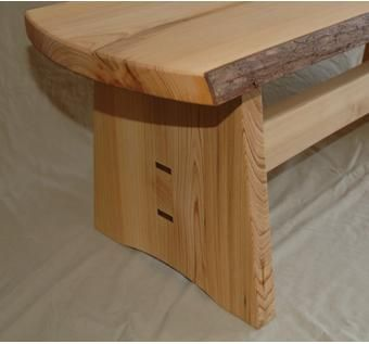 Custom Made Cypress Bench