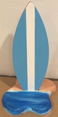 Custom Made 1ft Tall Surf Surfboard Party Table Centerpiece Decor