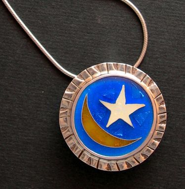 Custom Made Celestial Theme Necklace