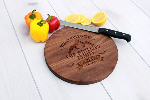Custom Made Personalized Cutting Board, Engraved Cutting Board, Custom Wedding Gift – Cbr-Wal-Phillipscabin