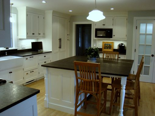 Custom Made Black & White Kitchen