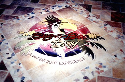 Custom Made Bug-A- Boo Bar Floor Entry