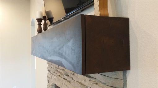 Mantel With Hidden Storage