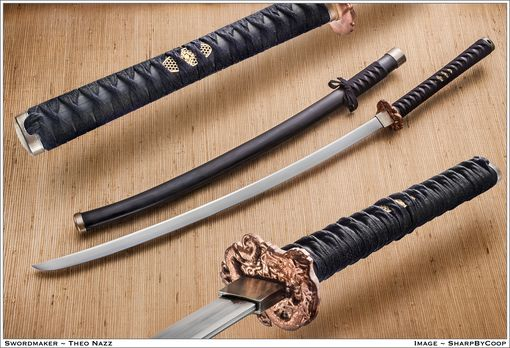 Custom Made Dragon Katana