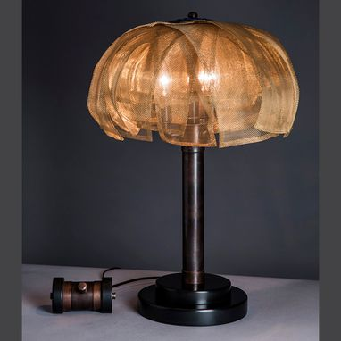 Custom Made Bobbed Lamp