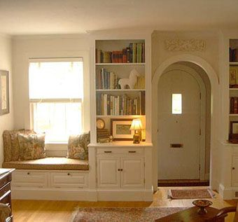 Custom Made Built-In Window Seat