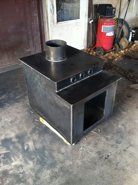 Custom Made Wood Stove by Crossroads Concrete | CustomMade.com