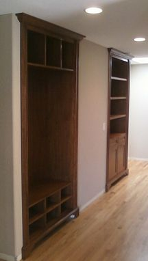 Custom Made Custom Walnut Built-Ins