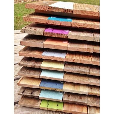 Custom Made Pallet Clocks