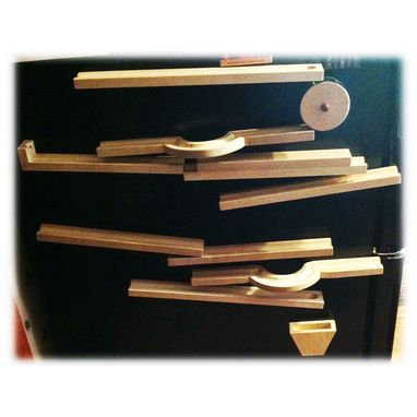 Custom Made Magnetic Marble Run
