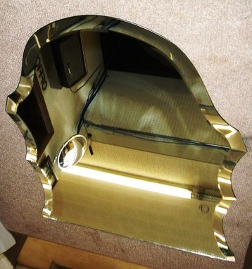 Custom Made Integrate Shaped Beveled Mirrors