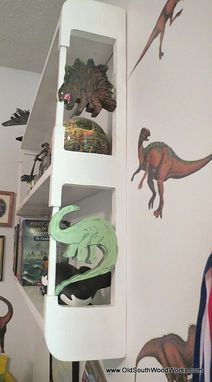 Custom Made Dinosaur Theme Bookshelf