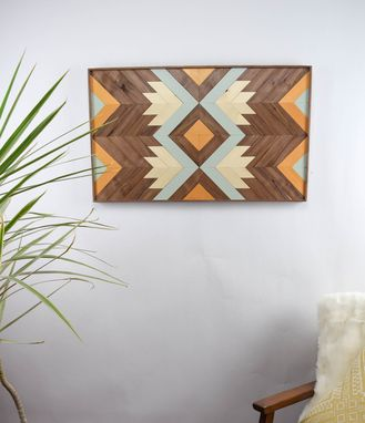 Custom Made Makani Wood Artwork