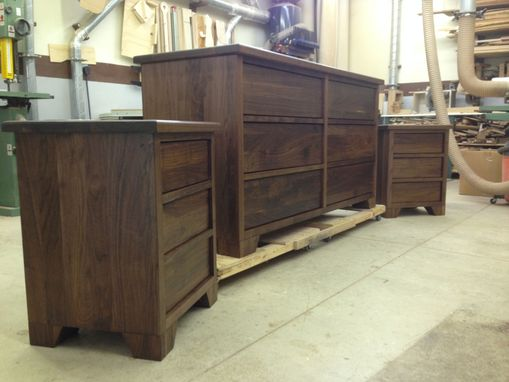 Custom Made Walnut Bedroom Set