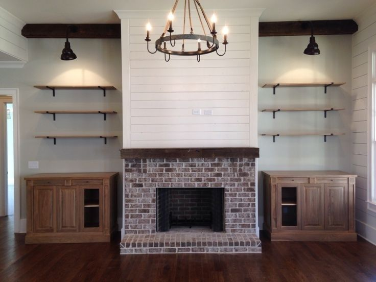 Modern Farmhouse Fireplace Mantel Decor